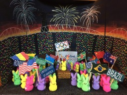 """Peeps Olympic Opening Ceremony,"" by Jill Osiecki"