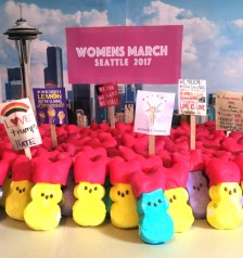 """Peeps - Womens March - 2017"" by Julianne Prekaski"