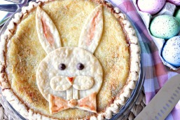 coconut-chocolate-chip-custard-easter-bunny-pie-4