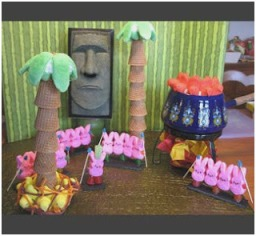 easter peep dioramas Pleasant PICTURE BUGS Peeps Dioramas