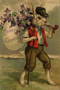 eastercard -- SMOKING BUNNY