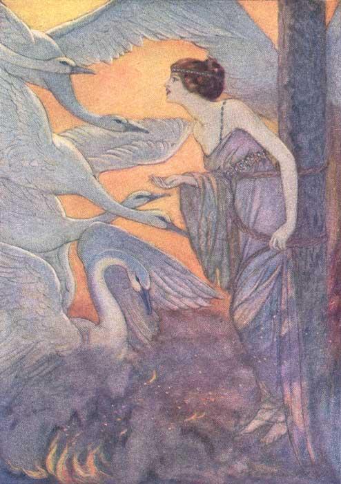 Elenore_Abbott_-_Six_Swans_-_1920
