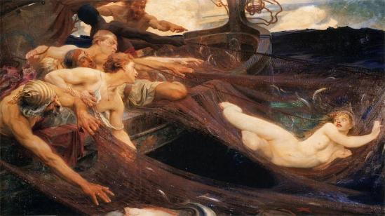Herbert_James_Draper,_The_Sea_Maiden