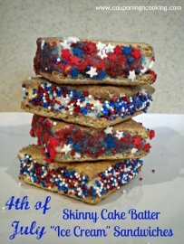 4th of july skinny cake batter ice cream sandwiches 009