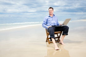 businessman-beach