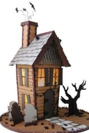 b0c82be38c49b6f924595af16f50779d--spooky-house-halloween-house