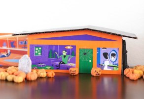 halloween-diy-mid-mod-putz-houses-featuring-art-by-shag
