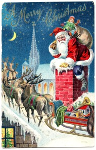 1-SantaChimneySleigh-GraphicsFairy1