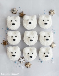 christmas-treats-polar-bear-cupcakes