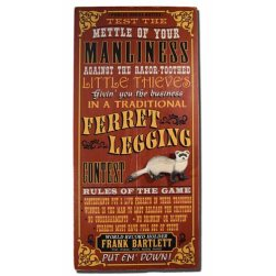 ferret-legging-vintage-plaque