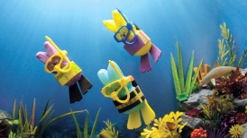 """""""Peeps Scuba Adventure 2018,"""" created by Katie and Cathy Rose"""