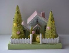 BETHANY-LOWE-MANTLE-EASTER-VILLAGE-PUTZ-HOUSE-Set-_1