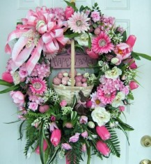 easter-eggs-paint-spring-flowers-wreath-osterdeko-tinker