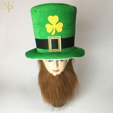 Nicro-Funny-Clover-Green-Leprechaun-Top-Hat-Headband-Irish-2019-Saint-Patrick-s-Day-Party-Decoration